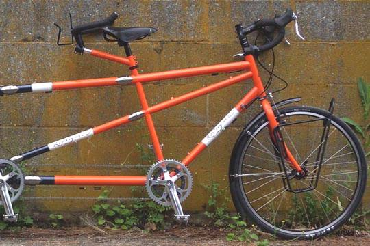 Convertible Single/Tandem Bikes